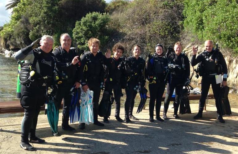 New Scuba Divers