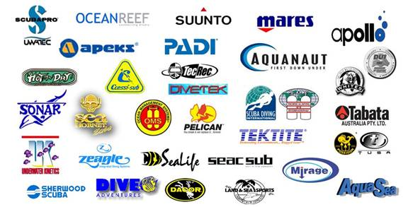 Scuba Warehouse Dive Equipment Brands